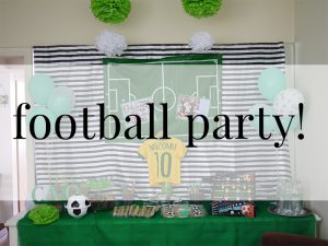 football party!